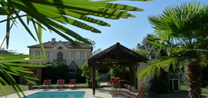 french villa midi-pyrenees