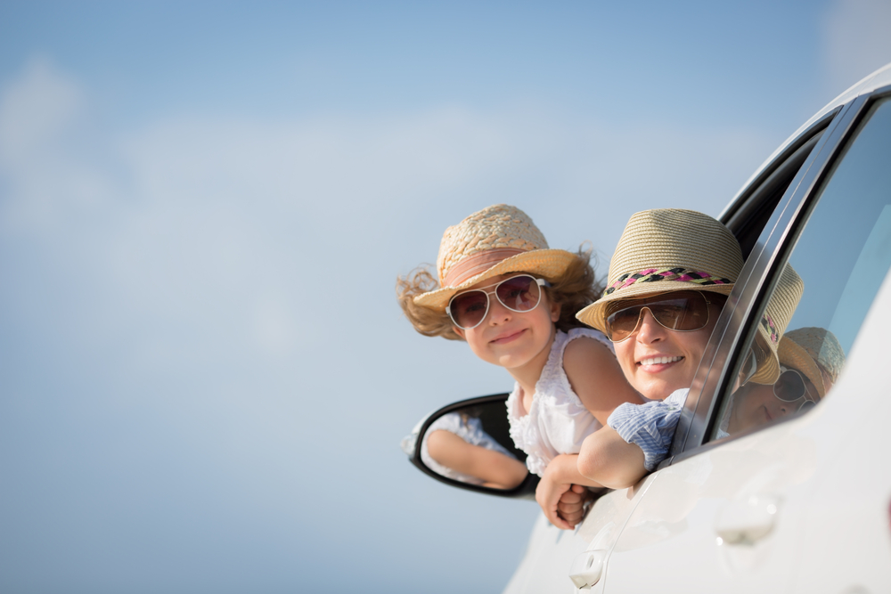 Family Car Hire - image courtesy of Shutterstock