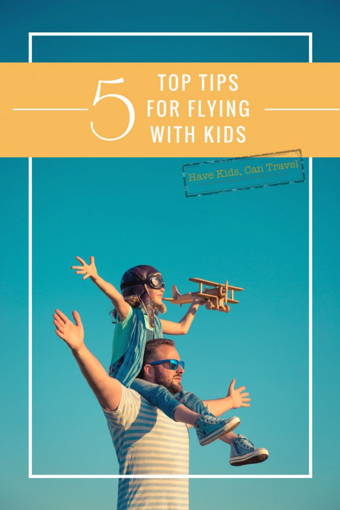 top tips for flying with kids