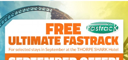 free fastrack at horpe park