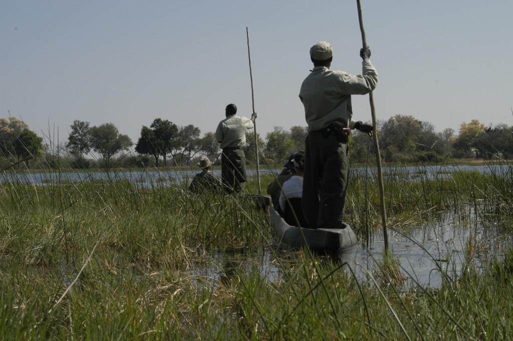 Botswana-mokoro-safari