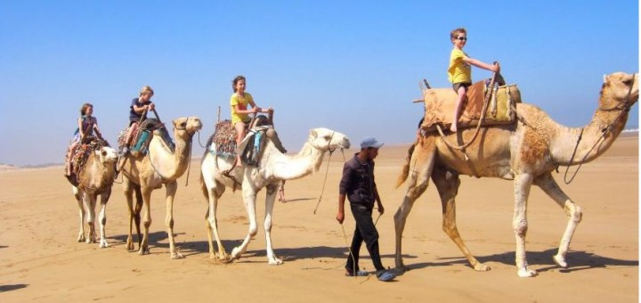 moroccan family holiday