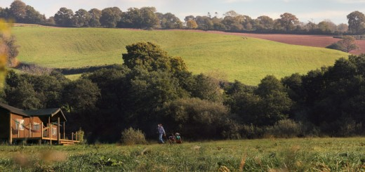Lantern & Larks Kittisford Barton site in Somerset
