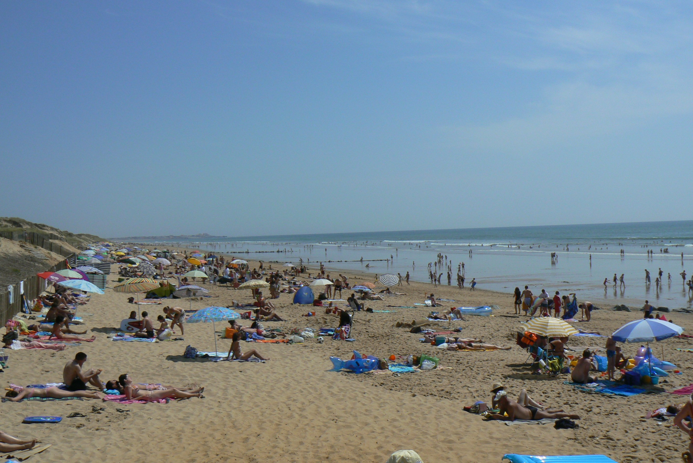 the beach at st hilaire