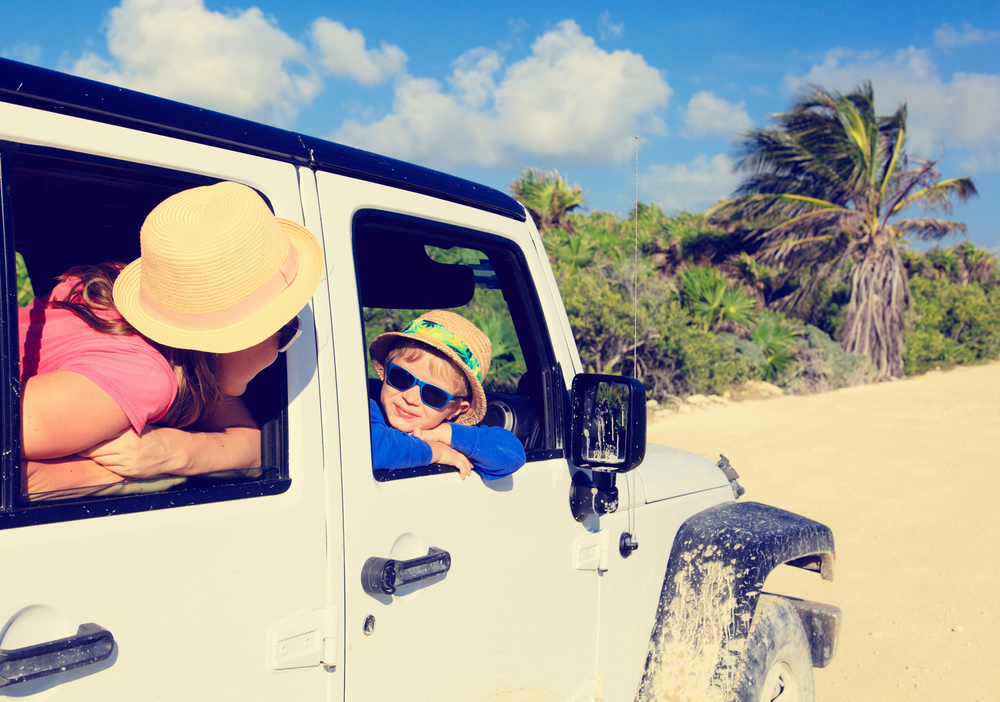 Family holiday in Mexico - image courtesy of Shutterstock