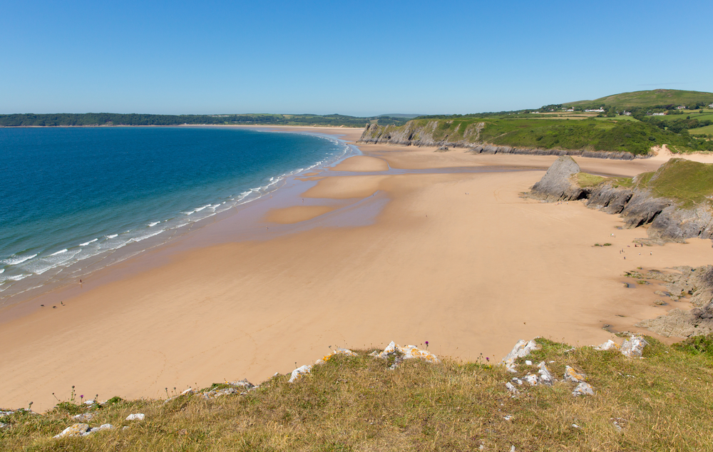 Welsh Beaches never disappoint - image courtesy of Shutterstock