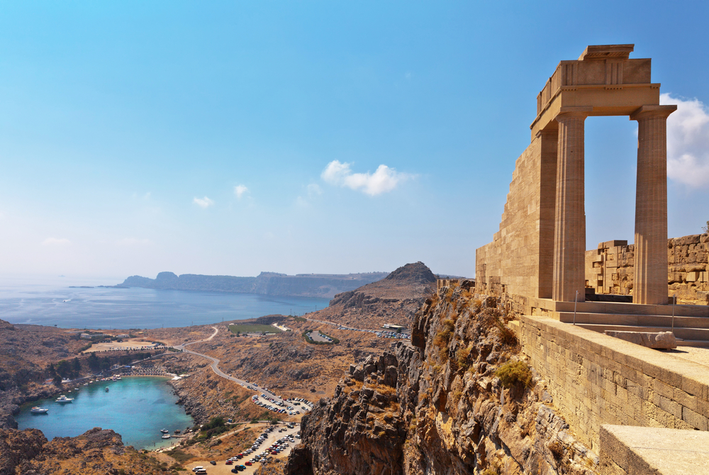 One day I'll make it to Rhodes - image courtesy of Shutterstock