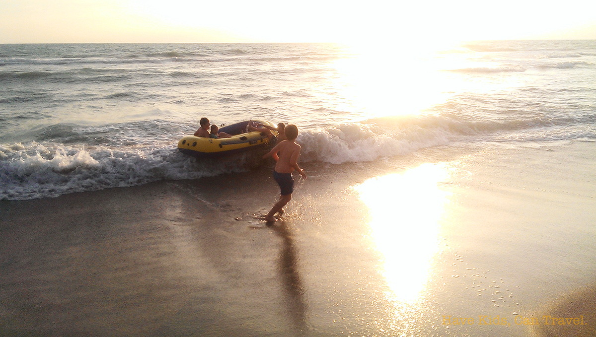 ionian-sea-ugento-kids-sunset