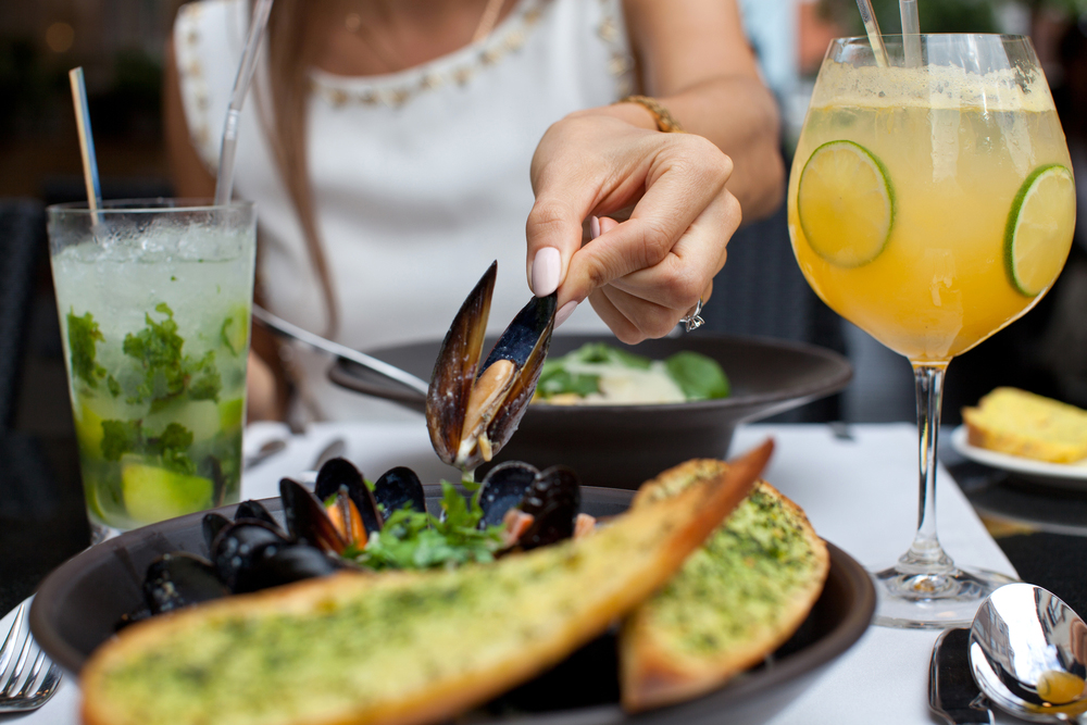 luxury seafood restaurant