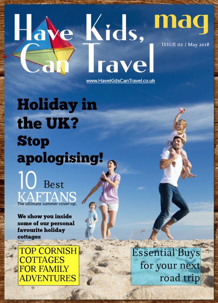 magazine for tarvel blog Have Kids, Can Travel