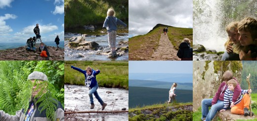 family holidays in Brecon Beacons