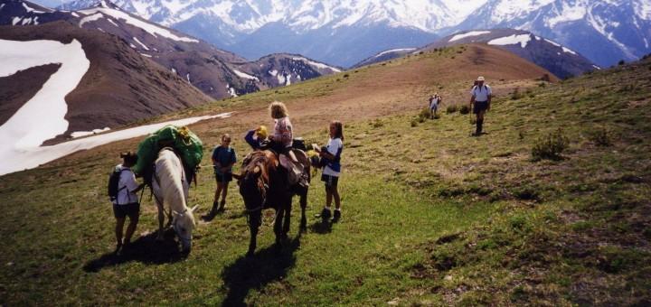 family ranch riding holiday