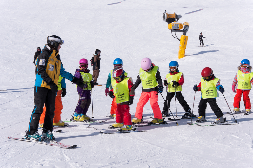 Family Ski Holiday Best Instructors